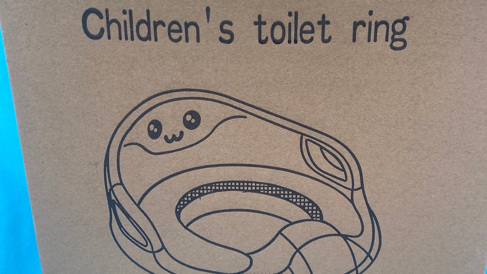 Pink toilet seat for toddlers brand new