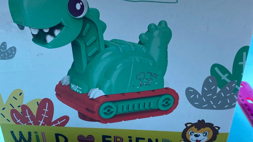 Wild friend dinosaur play toy new in the box