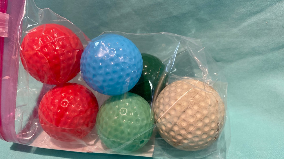 Plastic Golf Balls