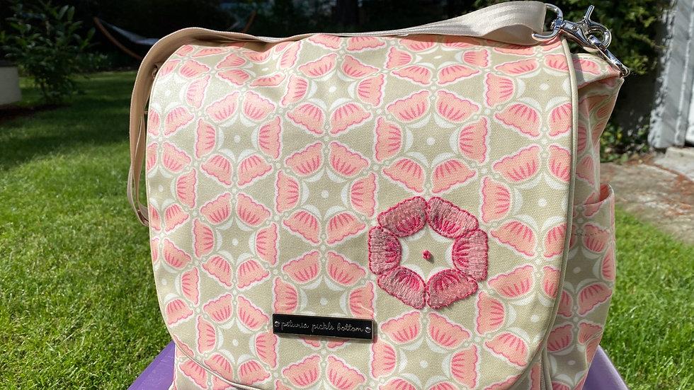 Petunia Picklebottom Diaper Bag/Backpack, like new with diaper pad