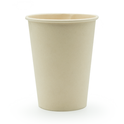 Paquete Vaso 12 Oz Pared Simple Bamboo x 50 Unidades