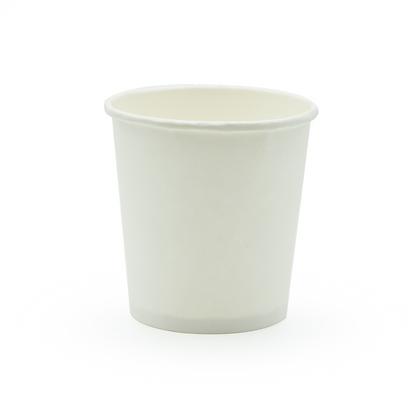 Paquete Vaso Bebida Caliente 4 Oz Blanco x 50 Unidades