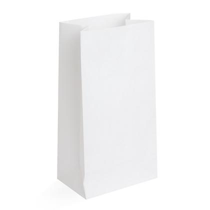 Paquete Bolsa Papel Blanco 12 lbs x 50 Unidades