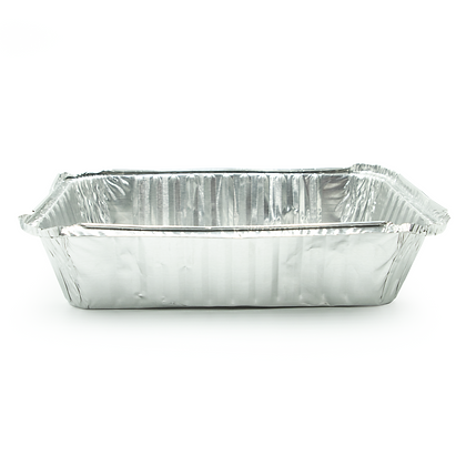 Caja de bandeja de aluminio 2.25lbs x500 unidades