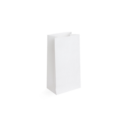 Paquete Bolsa Papel Blanco #3 x 50 Unidades