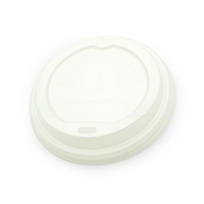 Paquete Tapa Plástica Blanca de 12/16 Oz x 50 Unidades
