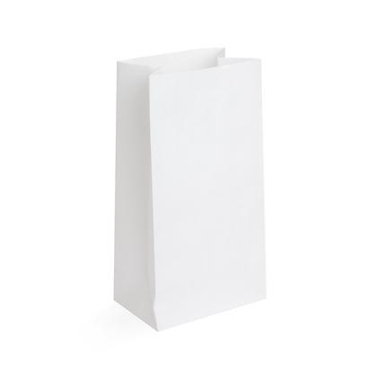Paquete Bolsa Papel Blanco 8 lbs x 50 Unidades