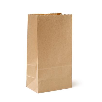 Paquete Bolsa Papel Cafe 10 lbs x 50 Unidades