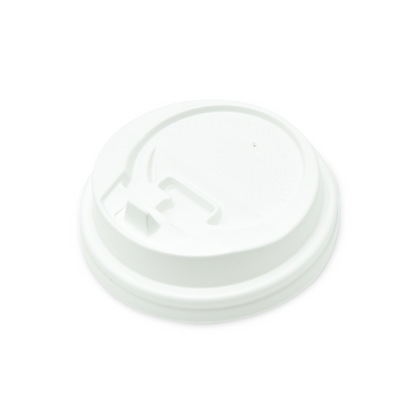 Paquete Tapadera Plástica Blanca 12 Oz x 50 Unidades