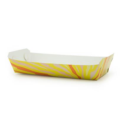 Bandeja para Hot Dog Cartón x 50 Unidades