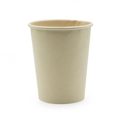 Paquete Vaso 8 oz Pared Simple Bamboo x 50 Unidades