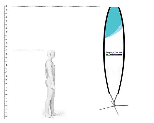 BANDEROLA SURFER 3.00 METROS