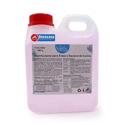 Desinfectante para Áreas y Equipos de Concina