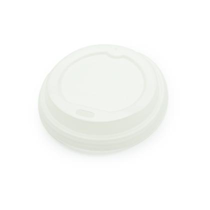 Paquete Tapa Plástica Blanca de 8 Oz x 50 Unidades