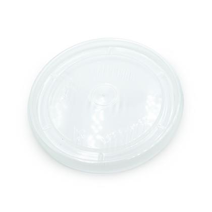 Paquete Tapadera Plana 12 Oz Transparente x 50 Unidades