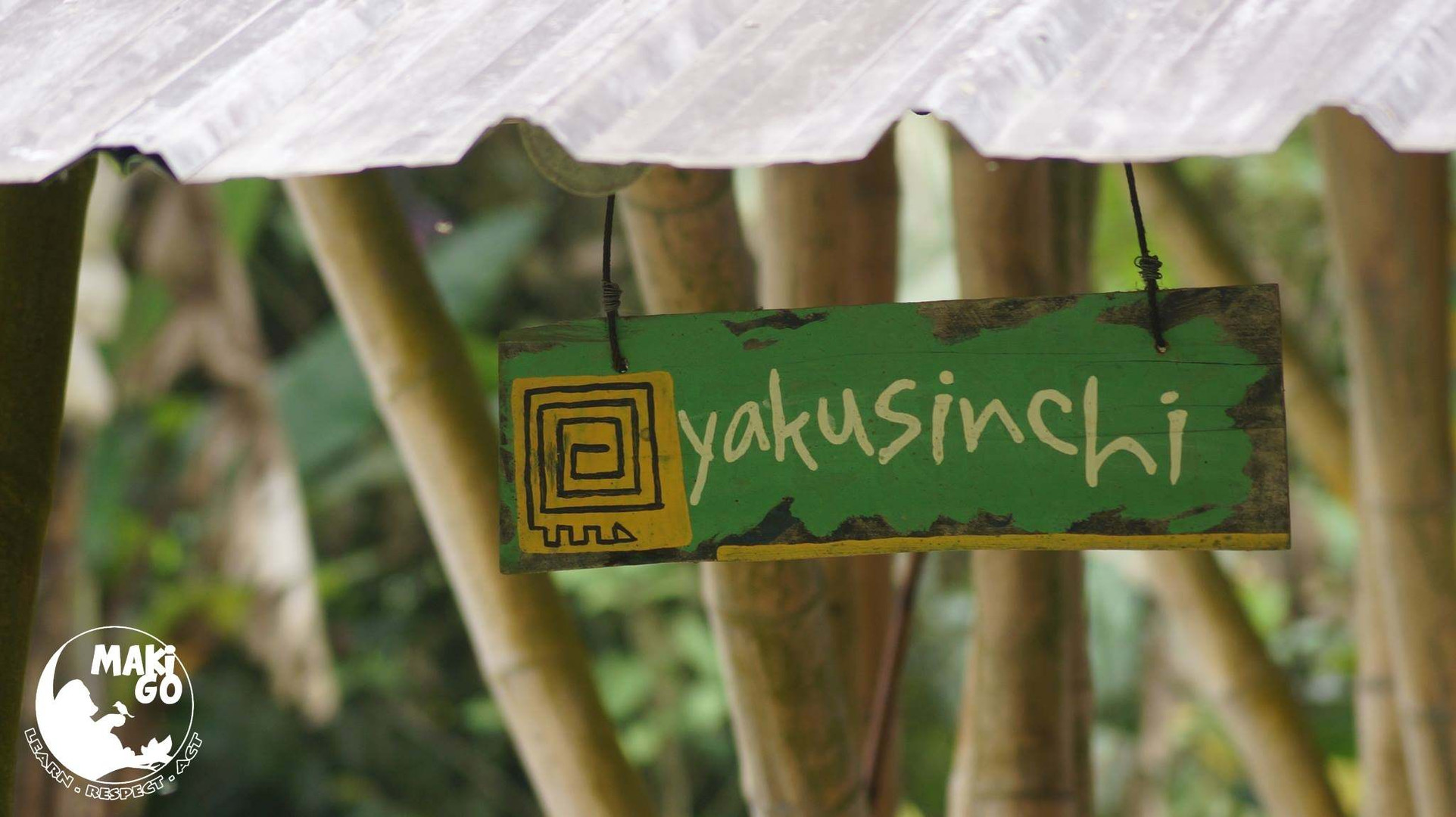 Entrée de Yakusinchi Wildlife Center