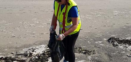 Nettoyage de la plage de Bon Abri (22 Hillion)