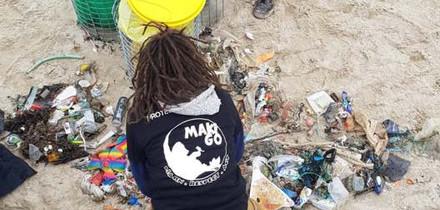 Nettoyage de plage de La Baule (44, La Baule)