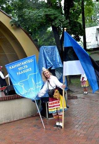 Pääsuke 51. Europeade festivalil. Kielce, Poola