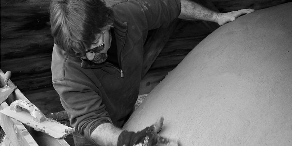 Atelier de construction de four à pain en argile