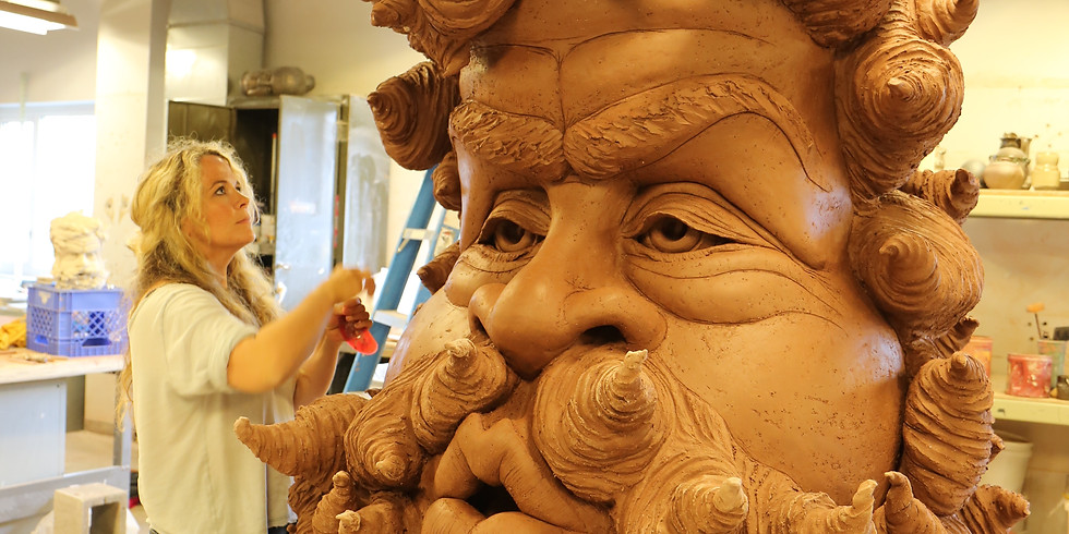 Large clay sculptures -COMPLET