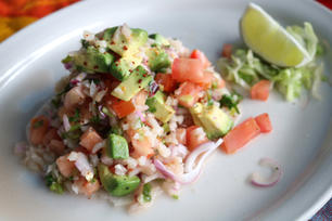 Palm Springs Restaurant Week Vegan Ceviche