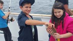 Valley Fishing Club Takes 60 City Kids Fishing in Marina Del Rey