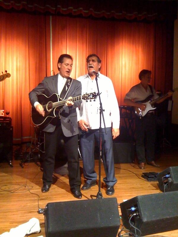 Rick Cavender with Ricardo Romo