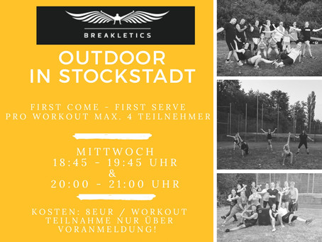 BREAKLETICS OUTDOOR in der TG Stockstadt