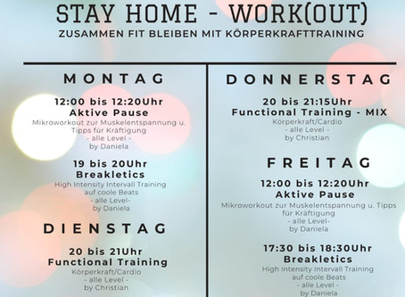 STAY HOME - WORK(OUT)