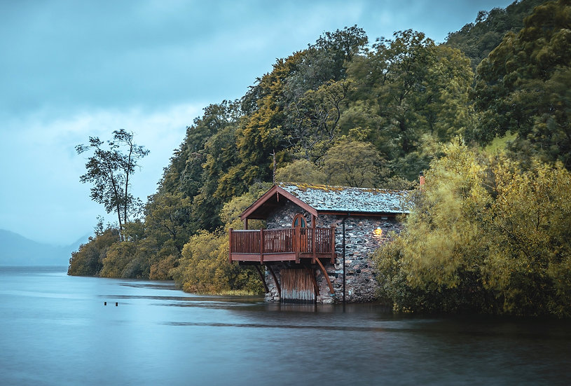 The Duke of Portland Boathouse pooley bridge Lake District