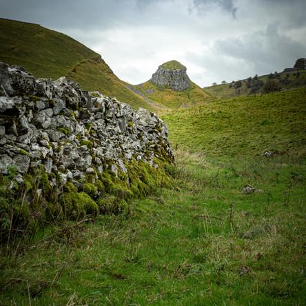 Peak District Rocky Outcrop