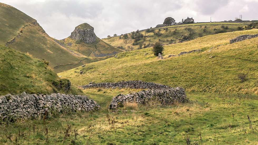The Peak District farmhouses