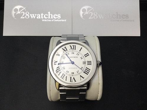 Pre-Owned Cartier Ronde Solo de Cartier W6701011 二手,淨錶 - 銅鑼灣店