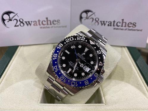 Pre-Owned Rolex GMT-Master II 116713LN 二手行貨,亂碼,內影,停產,藍光 - 尖沙咀店