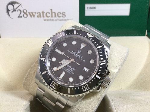 Pre-Owned Rolex Sea-Dweller 4000 116600 二手 亂碼 停產 齊格 藍光 - 銅鑼灣店