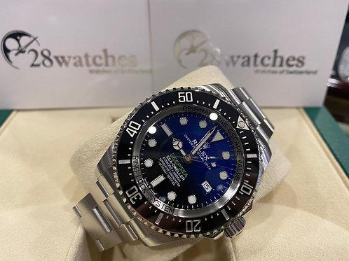 Pre-Owned Rolex Sea-Dweller Deepsea 126660 BLUE 二手行貨,五年保養,亂碼,內影,藍光 - 尖沙咀店
