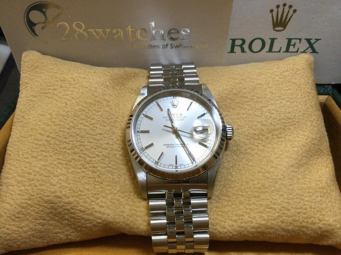 Pre-Owned Rolex Datejust 16234 二手行貨,停產,Y頭,帶直  - 銅鑼灣店