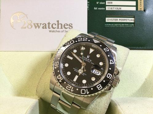 Pre-Owned Rolex GMT-Master II 116710LN 二手行貨,停產  - 銅鑼灣店