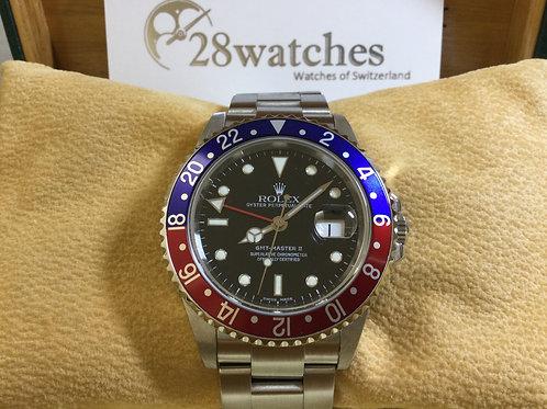 Pre-Owned Rolex GMT-Master II 16710 二手,淨錶,K頭  - 銅鑼灣店