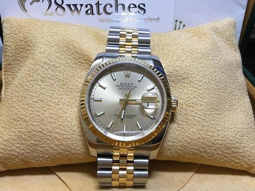 Pre-Owned Rolex Datejust 116233 二手行貨,AD發票 - 銅鑼灣店
