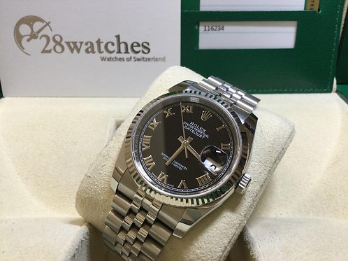 Pre-Owned Rolex Datejust 116234BLK 二手,停產- 銅鑼灣店