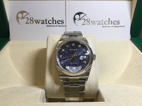 Brand new Rolex Datejust 126234 Jubilee 全新 - 銅鑼灣店