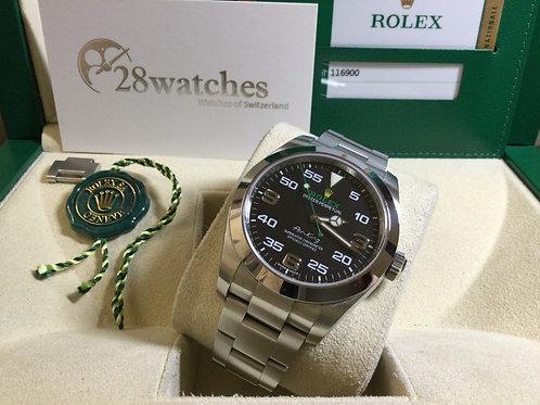 Pre-Owned Rolex Air King 116900 二手,五年保養,內影,齊格  - 銅鑼灣店