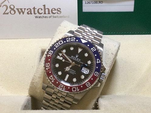 Pre-Owned Rolex GMT-Master II 126710BLRO 二手 - 銅鑼灣店