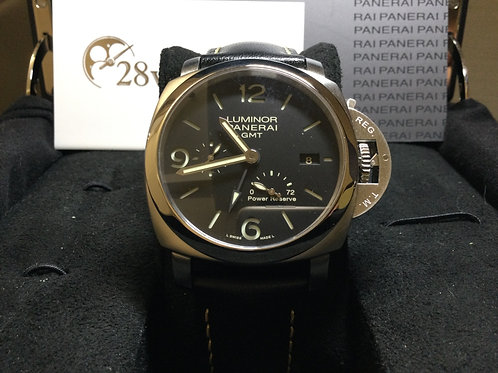 Pre-Owned Panerai Luminor 1950 3 Days GMT Power Reserve Automatic PAM00321 二手行貨