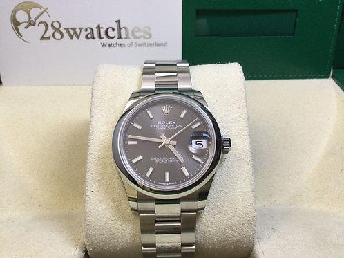Brand new Rolex Datejust 278240 Grey 全新,定價$51,700 - 銅鑼灣店