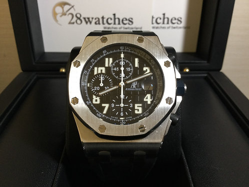 Pre-Owned A.P Royal Oak Offshore Chronograph 26020ST.OO.D001IN.01.A 有證,停產 - 銅鑼灣店