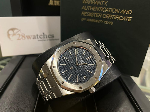 【尖沙咀店】二手 Audemars Piguet Royal Oak Jumbo 15202ST「行貨」「AD發票」「齊格」