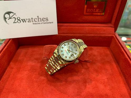Pre-Owned Rolex Datejust 69178 二手行貨,停產,齊吊牌,貝殼面 - 尖沙咀店